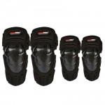 Carbon fiber knee guard K024